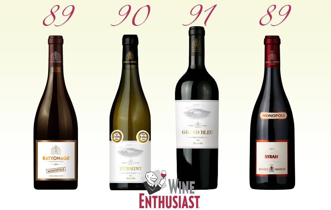 Wine Enthusiast Ratings
